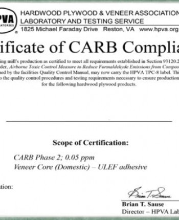 P2 CARB certification is and why we need them when timber exports
